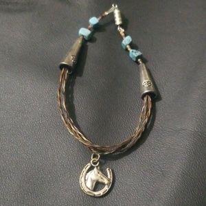 Jewelry - Handmade authentic horsehair bracelet